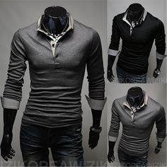 Slim Fit Modern Men Fashion Polo Shirt http://www.sneakoutfitters.com/Fall-2013-Collection/Slim-Fit-Modern-Men-Fashion-Polo-Shirt-p4152.html