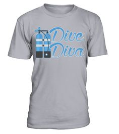 Dive Diva Diver Scuba Diving Deep Sea T Shirt   => Check out this shirt by clicking the image, have fun :) Please tag, repin & share with your friends who would love it. #Diving #Divingshirt #Divingquotes #hoodie #ideas #image #photo #shirt #tshirt #sweatshirt #tee #gift #perfectgift #birthday #Christmas
