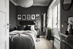 pisos pequeños oscuros pisos nórdicos pequeños pintura gris oscura pintar oscuro piso paredes gris oscuro negro decoración interioes cocina blanca pequeña blog decoración nórdica