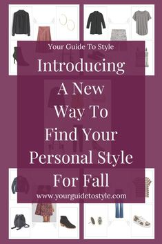 A New Way To Find Your Personal Style For Fall, Your Guide To Style, A New And Innovative Styling App, Includes Fall Fashion, Includes How to Style Outfits For Any Season, An App That Shows You How To Style Outfits, An App That Shows You What to Wear, Ways To Find Your Personal Style For Fall, Discover How To Dress, Learn How To Style, Finding What To Wear Fashion Group, Love Fashion, Autumn Fashion, Fall Wardrobe Essentials, Wardrobe Basics, Flat Lay Photography, Personal Stylist, Print Ads, All About Fashion
