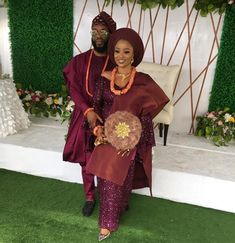 On this blessed day got engaged 💃🏽💃🏽💃🏽 HML babygeh😘😘😘😘😘💃🏽💃🏽💃🏽 And of course we glammed the beautiful bride up. Nigerian Wedding Dresses Traditional, Traditional Wedding Attire, Dashiki Shirt, African Wedding Attire, African Attire, African Lace Dresses, African Fashion Dresses, Nigerian Bride, Nigerian Weddings