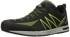 Scarpa Mens Iguana Approach Shoe BlackLime 425 EU95 M US -- Find out more about the great product at the image link.