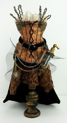 Artfully Musing: Steampunk - Steampunk Corset Dress