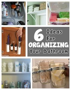 diy home sweet home: Organizing Tips for the Bathroom