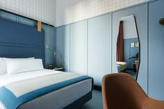 Spanish Room Mate hotels chain has opened its latest location in the heart of Milan designed by Patricia Urquiola.