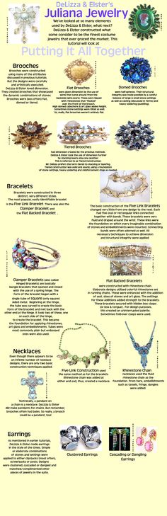 Vintage Costume Jewelry by Aged and Opulent Jewelry