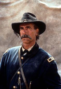 .Sam Elliot playing Brig Gen John Buford
