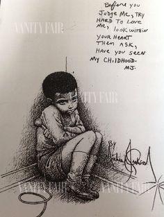 « Que savez-vous de mon enfance ? » : l'histoire secrète d'un émouvant dessin de Michael Jackson
