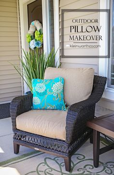 Outdoor Pillow Makeo