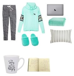 """""""STUDYDAY"""" by camillastefan1 on Polyvore featuring moda, Madewell, Victoria's Secret PINK, Berkshire Blanket e Jigsaw"""