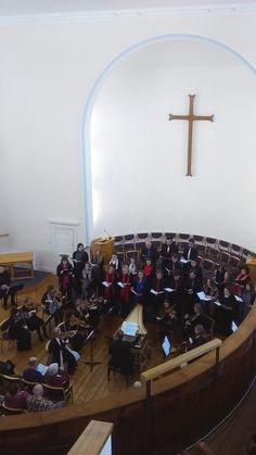 The University Cecilian Choir and String Sinfonia performing at St Peter's Methodist Church, Canterbury, March University Of Kent, Canterbury, Choir, March, Mirror, Music, Musica, Greek Chorus, Musik