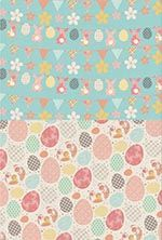 Free Easter printable papers from Papercraft Inspirations magazine issue 150