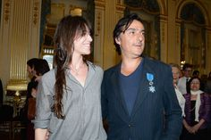 Charlotte Gainsbourg - French Ministry Hosts Honour Ceremony