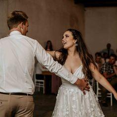 The dance floor opening of Marnus and Jeannine. Wedding Gowns, Wedding Cakes, Wedding Coordinator, First Dance, Beautiful Day, True Love, Dj, Flower Girl Dresses, Bridesmaid Dresses