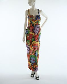 Evening dress Gianni Versace  Design House: Gianni Versace (Italian, founded 1978) Date: spring/summer 1991 Culture: Ita...