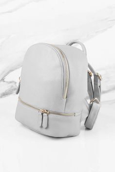 2cd5785beef4 Suzie Faux Leather Backpack. Travel PackingTravel BagsFashion ...