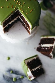 delta-breezes:Matcha White Chocolate Cake | Molly Yeh