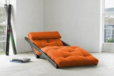 Furniture Design A Combination Of Chaise Lounge Chair And Low Bed The Figo Futon Takes Up Minimal E Is Not Only