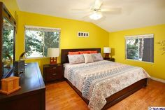 Master suite has a spacious bathroom with spa tub and a walk-in closet. Second floor accommodates 4 good size bedrooms and two updated bathrooms.