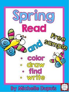 FREEBIE - Spring Reading Fun