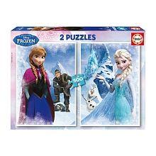 Educa Borrás - Puzzle 2 X 500 Peças - Frozen