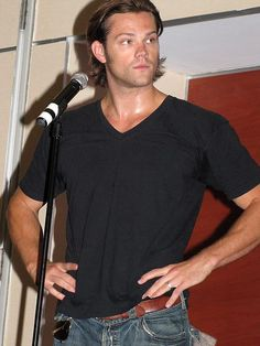 Jared looking a bit hot in every sense of the word ;)