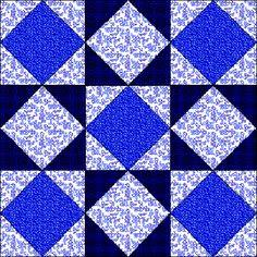 ' Kansas Star ' quilt block