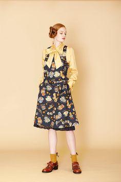 ジェーンマープル(Jane Marple) 2017年秋 ウィメンズ コレクション - 写真6 Quirky Fashion, Teen Fashion, Vintage Fashion, Fashion Outfits, Womens Fashion, Harajuku Fashion, Kawaii Fashion, Shibuya Style, Forest Fashion
