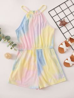Cute Lazy Outfits, Crop Top Outfits, Kids Outfits Girls, Girl Outfits, Girls Fashion Clothes, Girl Fashion, Fashion Outfits, Jumpsuits For Girls, Girls Rompers