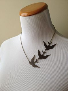 3 Ravens necklace - 40 Fine Pieces Of Jewelry Every Book Lover Would Love To Have