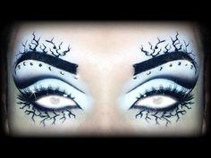 "HALLOWEEN 2014 Makeup Tutorial - Xmen ""Storm"" #emanuelecastelli #eyemakeup #eyes - bellashoot.com"