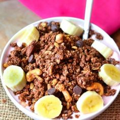 Let's start the week off right with some Sweet and Salty Nutella Granola! Sangria Recipes, Fruit Recipes, Dessert Recipes, Fruit Dips, Fruit Salad, Brunch Recipes, Appetizer Recipes, Salad Recipes, Cake Recipes