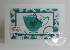......Yvonne is Stampin' & Scrapping.....: Een heerlijk kopje thee.. En de winnaars!
