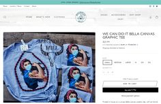 Magnolia Mill specializes in the latest fashion for women, offering custom Tshirts. New NURSE we can do it Tee - Shopify Website by #2FriendsDesigns - Contact Lisa@2friendsdesigns.com