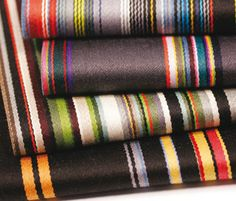 Paul Smith...love this fabric line
