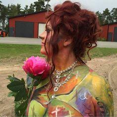 Kroppsmålning med mina tavlor som inspiration www.brownbetty.se Sweden, Rave, Inspiration, Style, Fashion, Biblical Inspiration, Moda, Stylus, Fasion