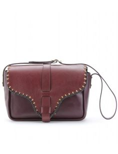 mytheresa.com - Chloé - LACED LEATHER SHOULDER BAG - Luxury Fashion for Women / Designer clothing, shoes, bags - StyleSays