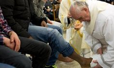 """Church Traditionalists Livid at Pope for Washing Feet of Two Girls on Holy Thursday, Slate, 3.30.13: """"The pope washed the feet of two Muslim teenagers Thursday—a boy and a girl—in a move that observers quickly said could mark the beginning of an openness toward the Muslim world that could change how the Vatican is perceived, points out the AFP."""""""