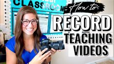 How to Record Teaching Videos | Cameras, Lighting, & More! - YouTube Teaching Tools, Teaching Resources, Pocketful Of Primary, Google Classroom, Classroom Ideas, Music Online, Home Learning, Elementary Music, Video Camera