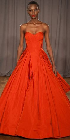 Runway Looks We Love: The 125 Best Looks Of New York Fashion Week Fall/Winter 2014 - Zac Posen from #InStyle