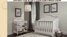 Thomasville Southern Dunes Crib (4 in 1 Convertible) White Guide & Reviews