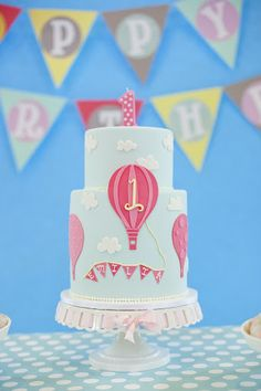 Jane: An Event Design & Coordination Co. » Blog Archive » Emilia's 1st Birthday hot air balloon