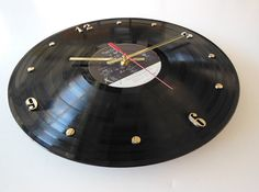 PINK FLOYD Record Clock The Wall by RecordsAndStuff on Etsy, $28.00