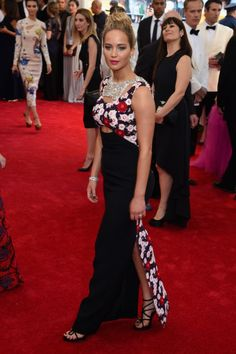 Jennifer Lawrence. See all the looks from the 2015 Met gala.
