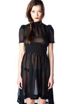 widow chiffon dress: http://www.dollskill.com/shop/widow.html