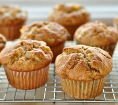 Savory/Sweet Muffins, good with caramel on top