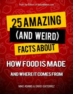 25 Amazing and Weird Facts About How Food is Made #food #green #health