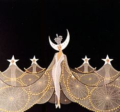 jcleyendecker:  I just started another tumblr, Art of Erte, so make sure you follow it if you're a fan of the work of Romain de Tirtoff, also known as Erté! :)