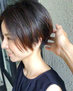 Short Straight Hair, Short Hair Cuts, Straight Hairstyles, Short Hair Styles, Short Layers, Hair Color, Hair Beauty, Haircut Short, Pasta