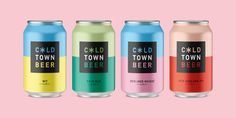 Cold Town Beer on Packaging of the World - Creative Package Design Gallery